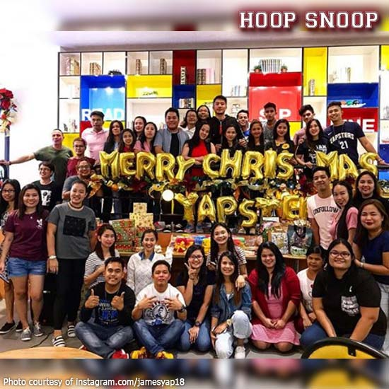Throwing A Christmas Party At Home: James Yap Throws A Memorable Christmas Party For Yapsters